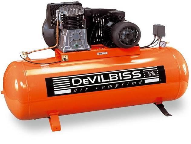 Compresseur cylindre fonte et marche lente pour r paration for Compresseur garage automobile