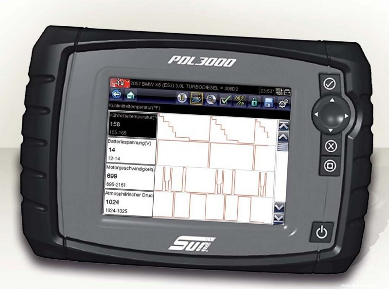 Tablette de diagnostic multi fonction pdl 3000 high tech for Garage peugeot vallauris