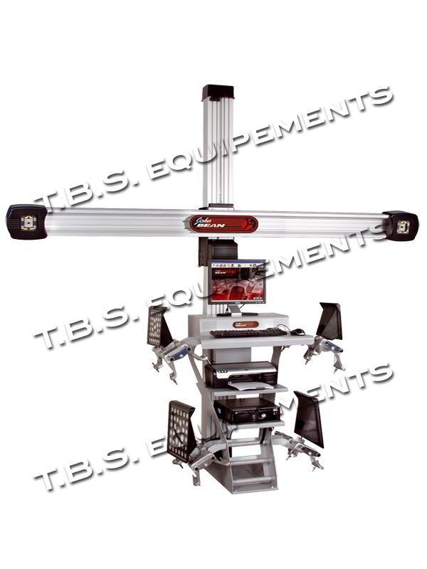 9ef80b04a503b2 Appareil de contrôle de géométrie des roues VL, avec technologie 3D JOHN  BEAN SNAP-
