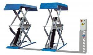 pont elevateur a ciseaux ravaglioli tbs equipement. Black Bedroom Furniture Sets. Home Design Ideas