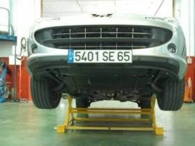 Elevateur basculant mobile pour atelier de garage levage et presse mat riel et equipement de - Materiel pour garage automobile ...