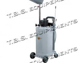 aspirateur recuperateur d 39 huile luro mobile 80 litres tbs equipement. Black Bedroom Furniture Sets. Home Design Ideas