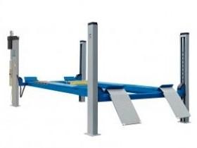 pont elevateur ravaglioli 4 colonnes bande transporteuse caoutchouc. Black Bedroom Furniture Sets. Home Design Ideas